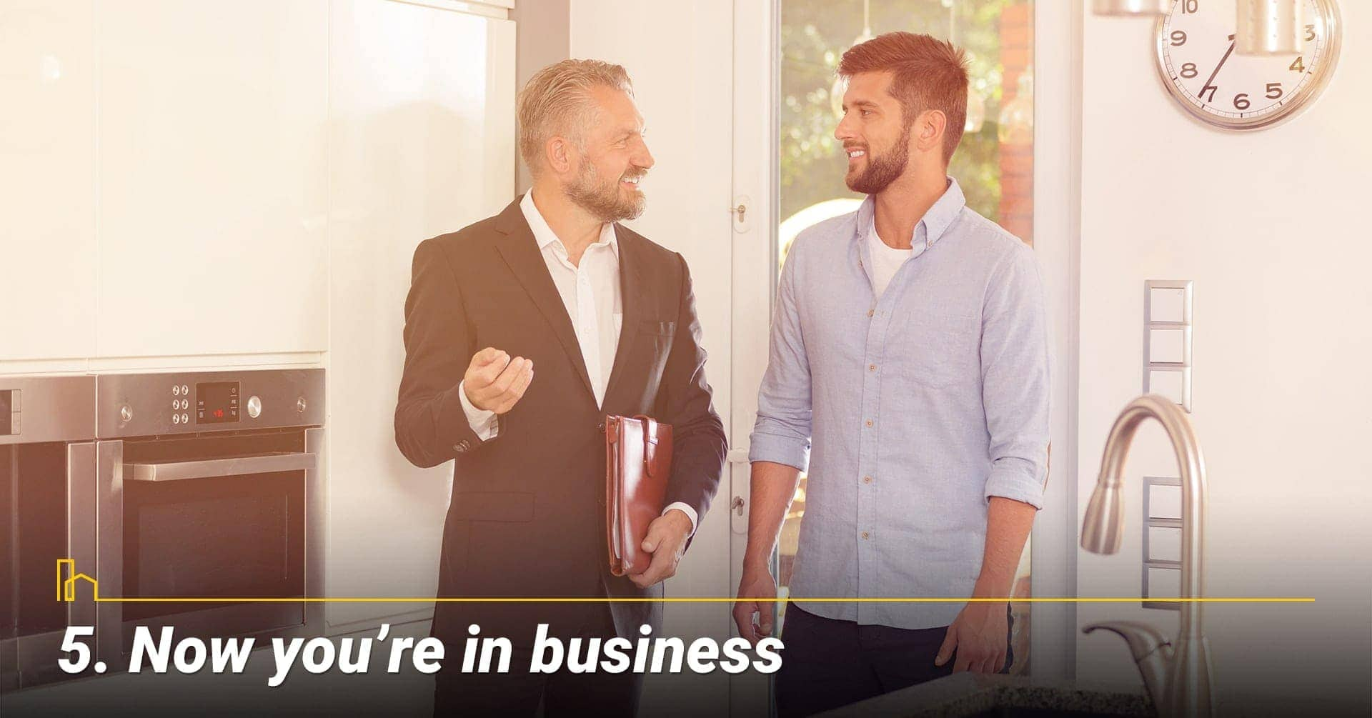 Now you're in business, treat your rental property as a business