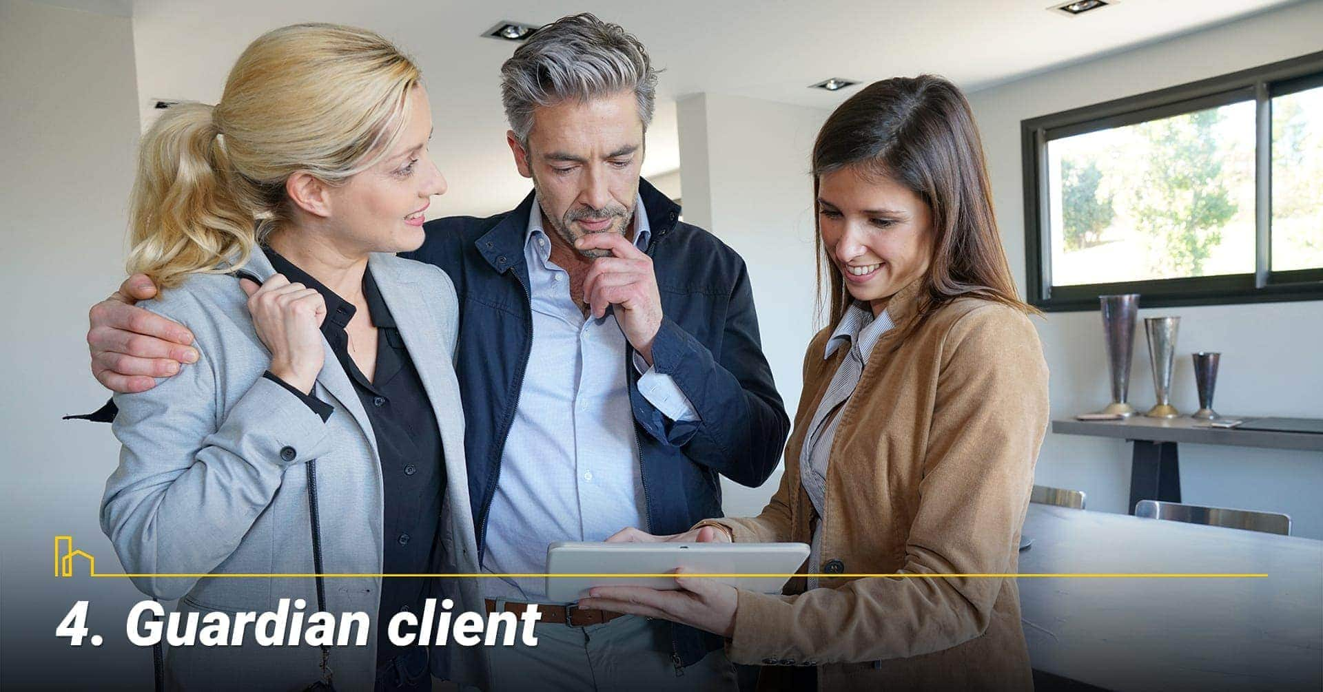 Guardian client, reserved client