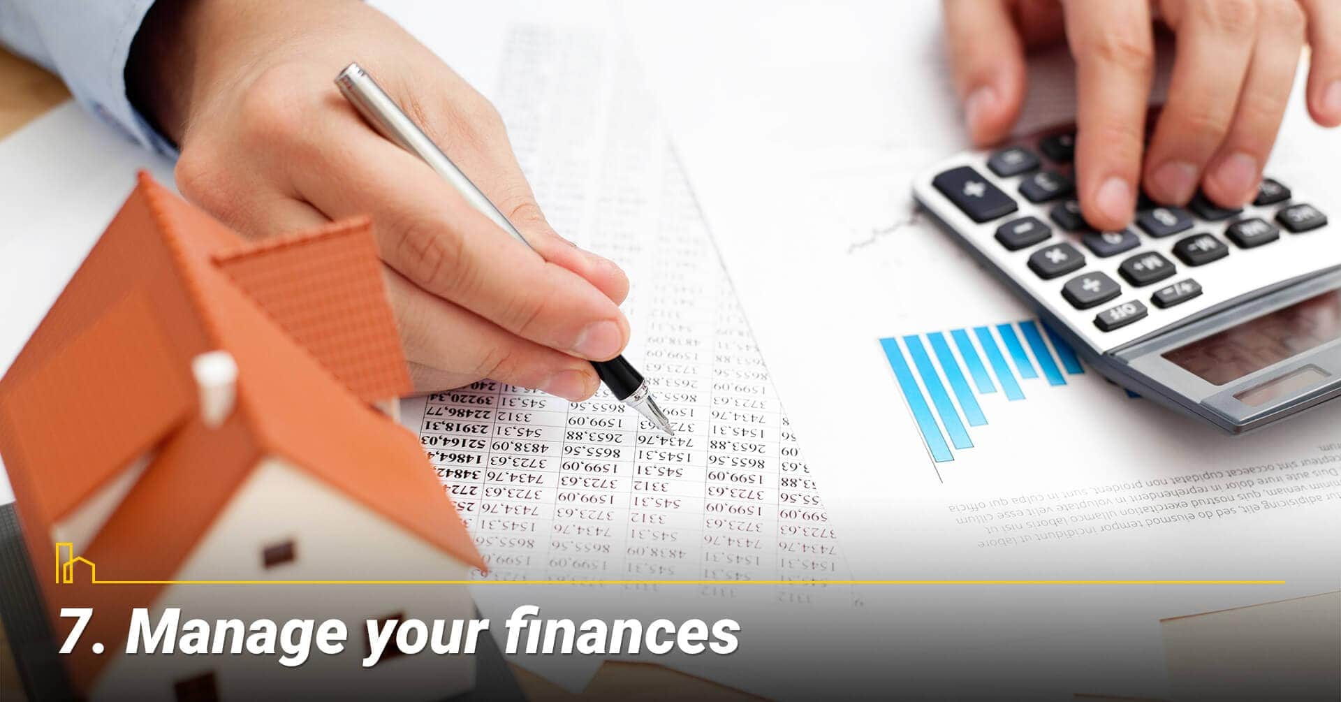 Manage your finances, keep track of your money