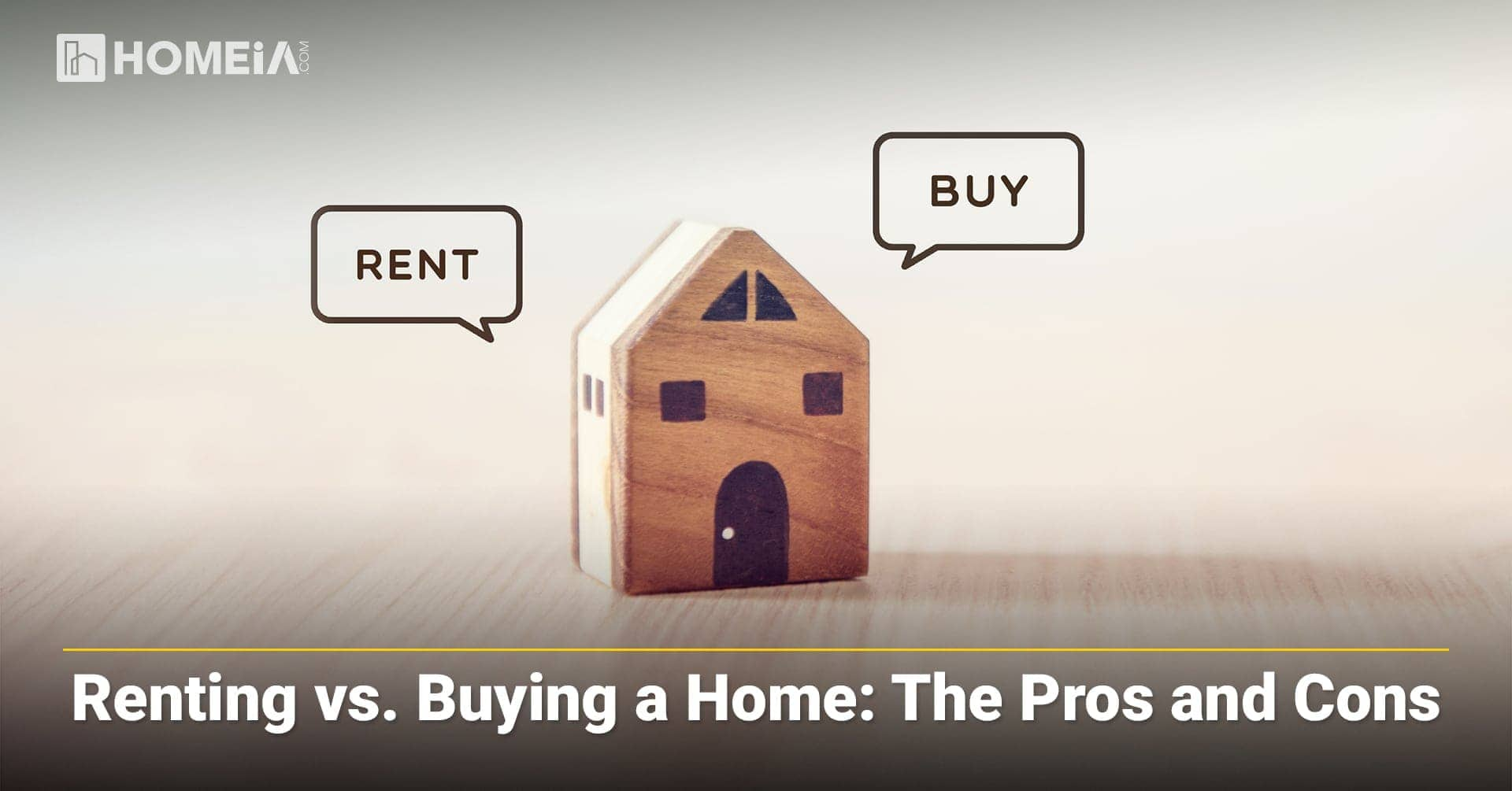 Renting vs. Buying a Home: The Pros and Cons