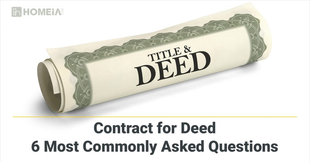 The Advantages and Disadvantages of a Contract for Deed: Commonly Asked Questions