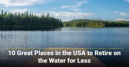 10 Best Places in the USA to Retire on the Water for Less
